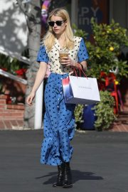 Emma Roberts - Spotted outside Fred Segal in West Hollywood