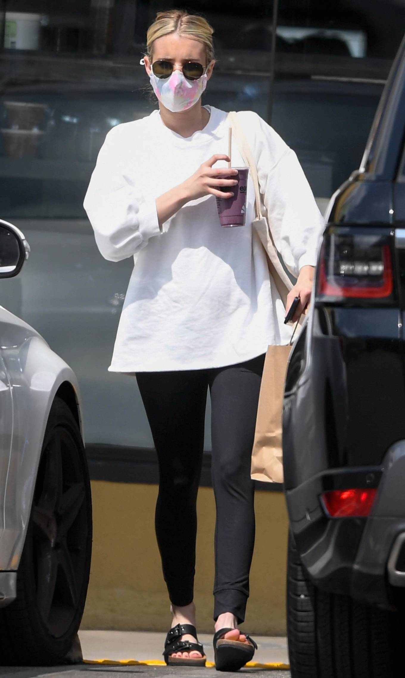 Emma Roberts - Stepping out in Los Angeles
