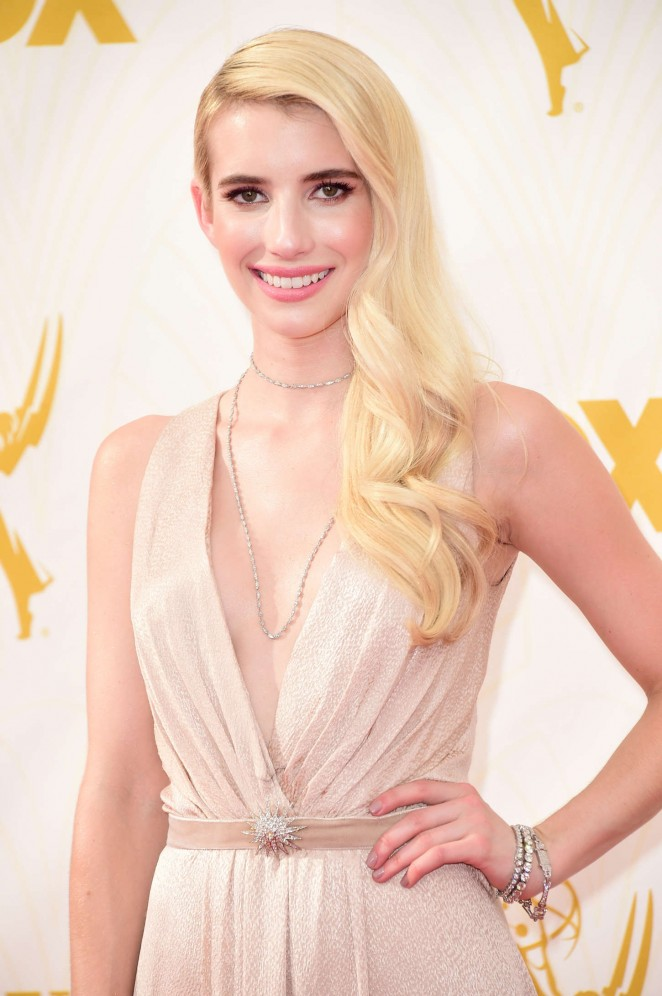 Emma Roberts - 2015 Emmy Awards in LA