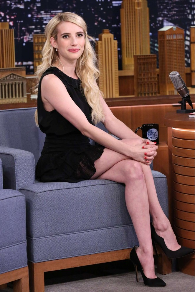 Emma Roberts - 'The Tonight Show Starring Jimmy Fallon' in NYC