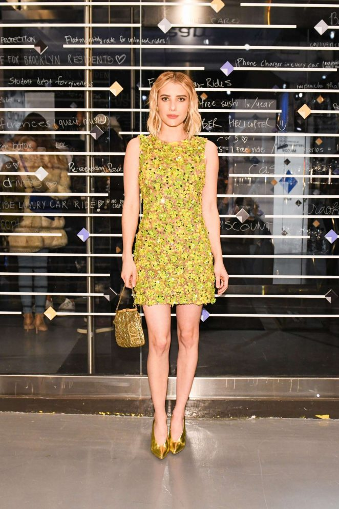 Emma Roberts - Uber Rewards Launch Party in New York