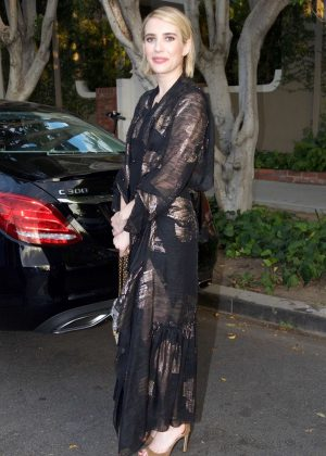 Emma Roberts - Violet Grey Event in Beverly Hills