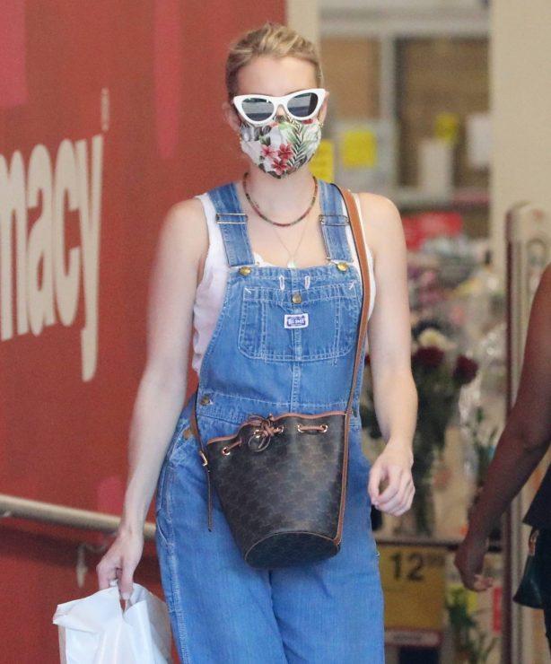 Emma Roberts - Visit to CVS in Studio City