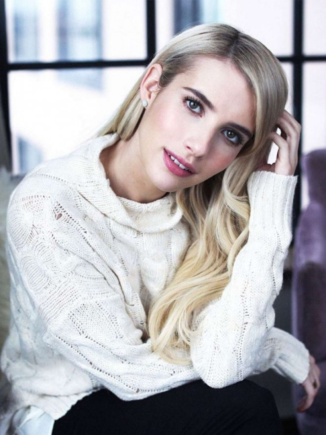 Emma Roberts - Who What Wear Photoshoot