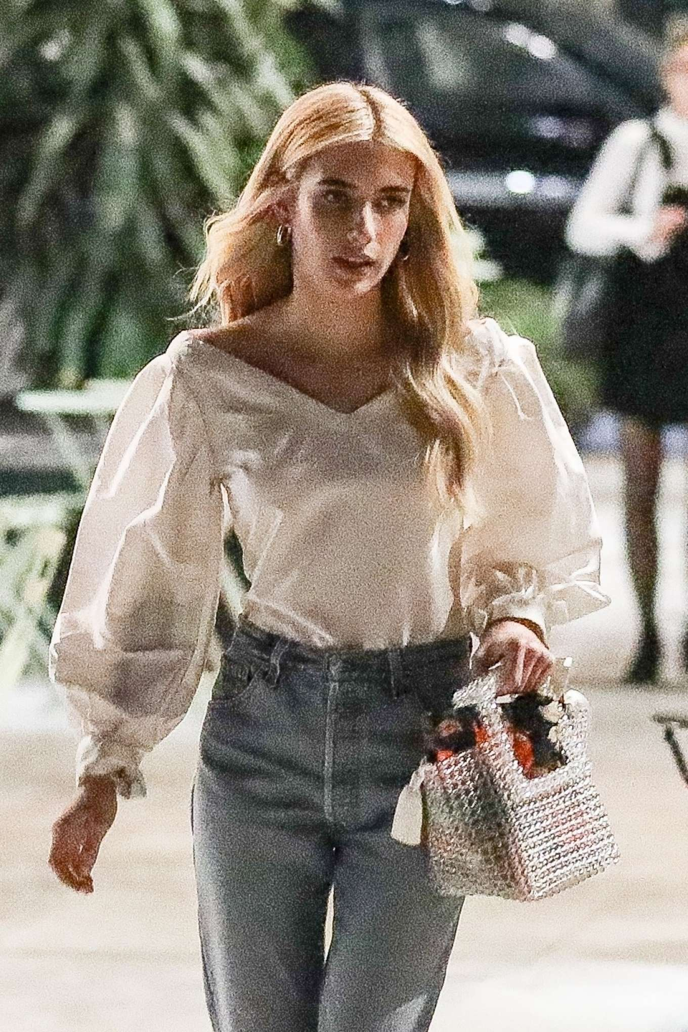Emma Roberts - With a new hairstyle in West Hollywood