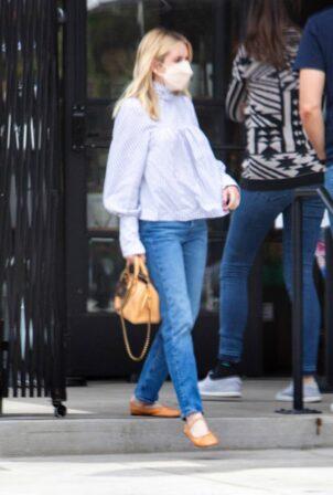 Emma Roberts - With boyfriend Garrett Hedlund out in Los Angeles