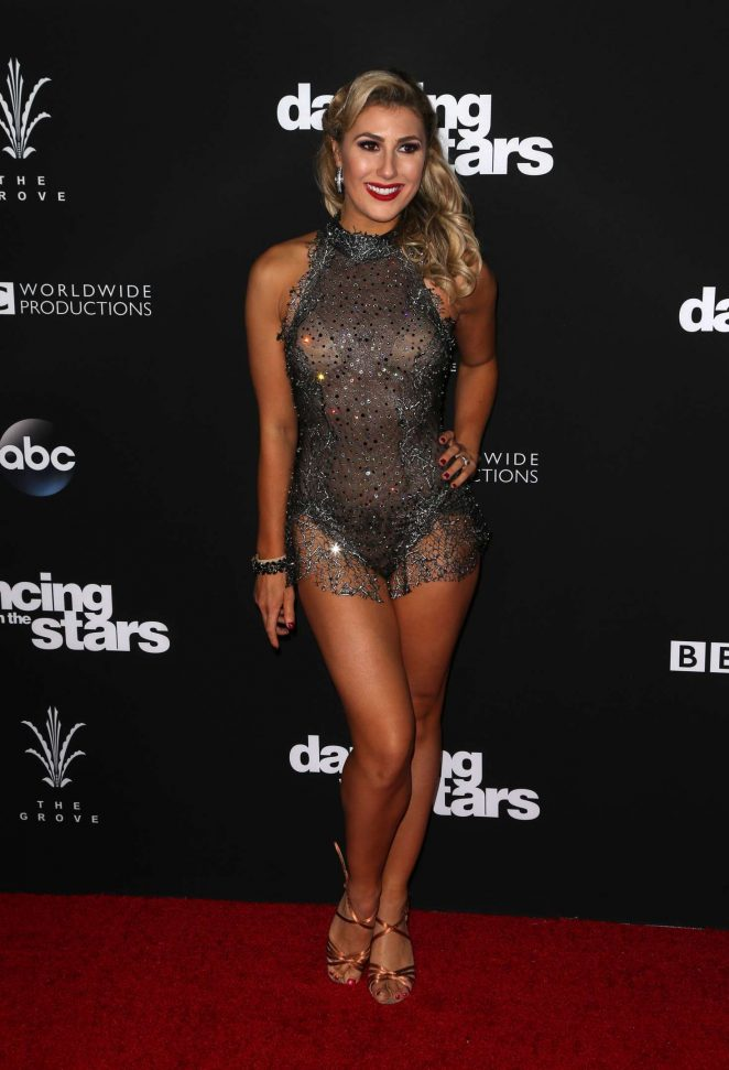 Emma Slater - 'Dancing With the Stars' Season 23 Finale in Hollywood