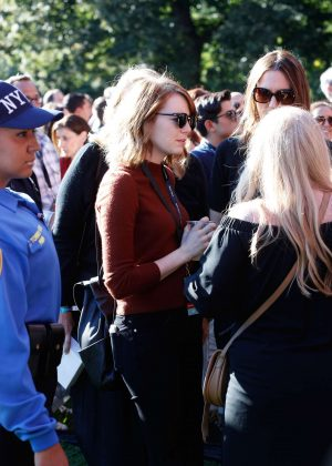 Emma Stone - 2016 Global Citizen Festival in New York
