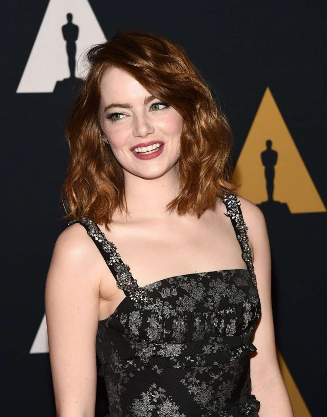 Emma Stone - 2016 Governors Awards in Hollywood