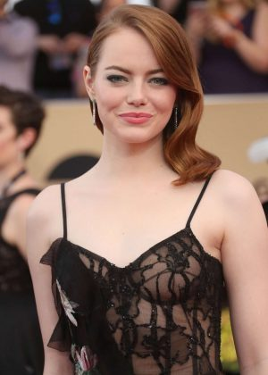 Emma Stone - 2017 Screen Actors Guild Awards in Los Angeles