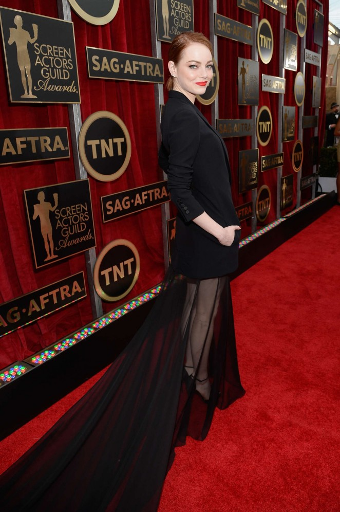 Emma Stone – 21st Annual Screen Actors Guild Awards in LA
