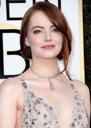 Emma Stone - 74th Annual Golden Globe Awards in Beverly Hills