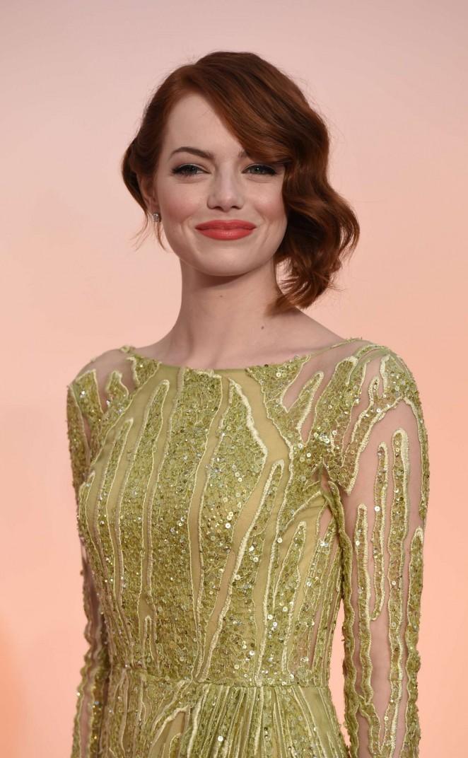 Emma Stone - 2015 Academy Awards in Hollywood