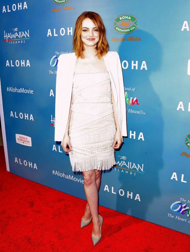 Emma Stone - 'Aloha' Screening in West Hollywood