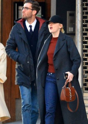 Emma Stone and Dave McCary out in NYC