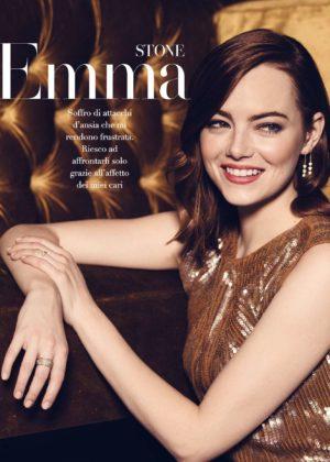 Emma Stone - F Magazine (November 2017)