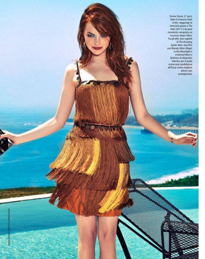 Emma Stone - F N.36 Italy Magazine (September 2016)