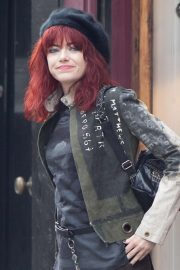 Emma Stone - Films Disney's Cruella Movie in London
