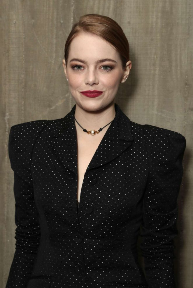 Emma Stone - Fox Searchlight Holiday Party in Los Angeles
