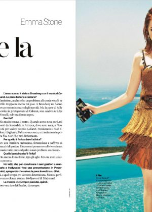 Emma Stone - Gioia! Magazine (September 2016)