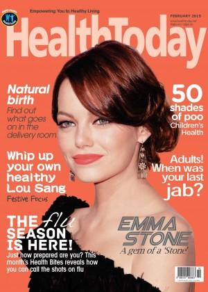 Emma Stone - HealthToday Malaysia Magazine (February 2015)
