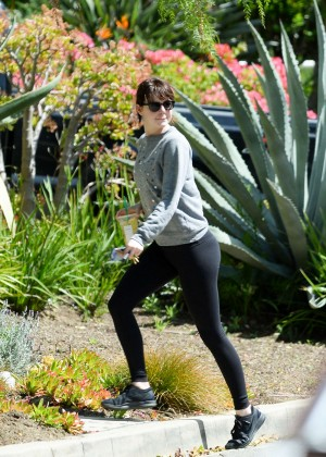 Emma Stone in Tights out in Los Feliz
