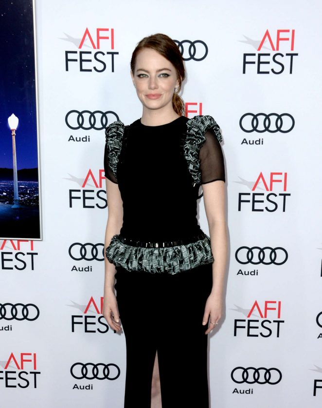 Emma Stone – 'La La Land' Gala Screening at 2016 AFI Fest in LA
