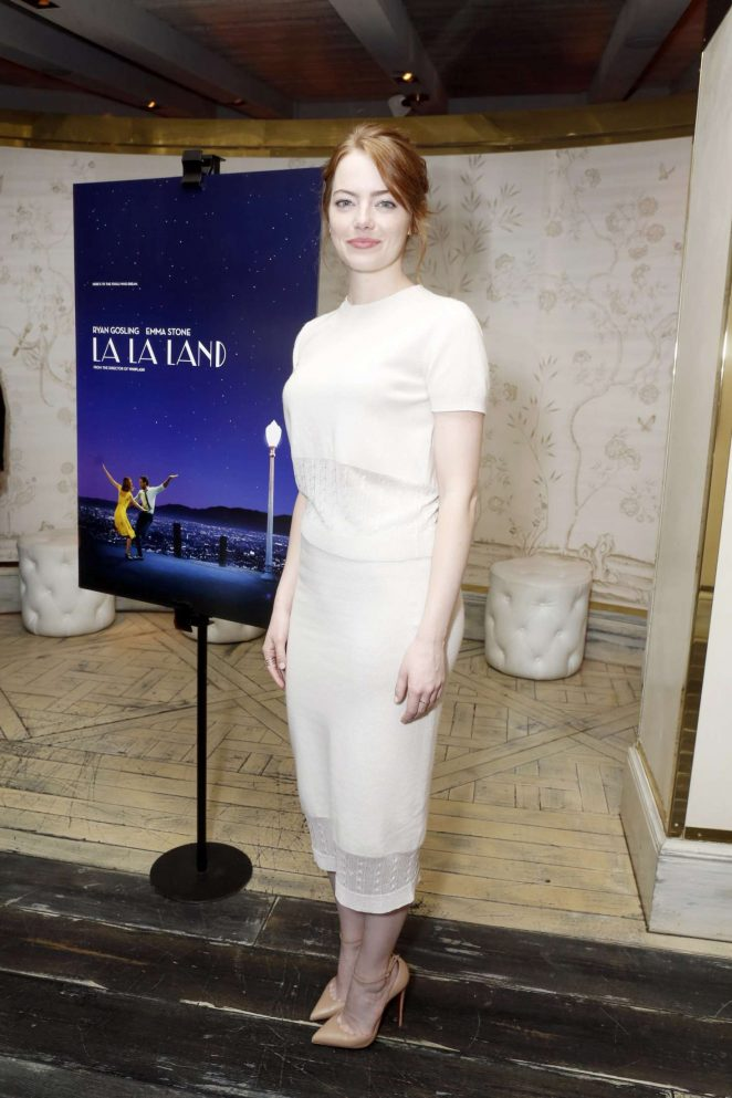 Emma Stone - 'La La Land' Screening hosted by Eddie Redmayne in LA