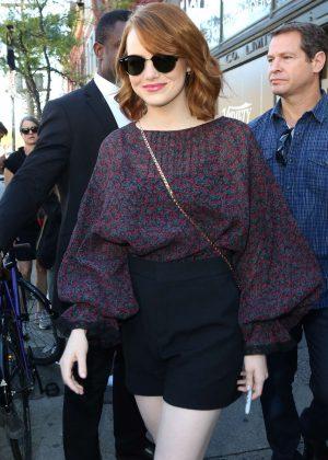 Emma Stone - Leaving the Variety Studio in Toronto