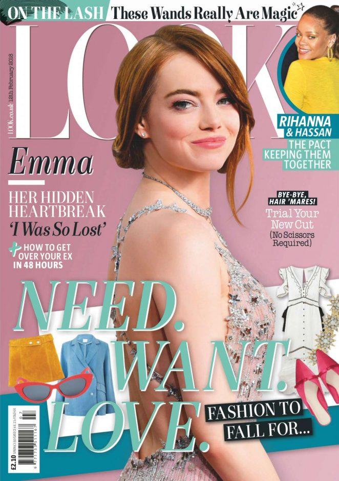 Emma Stone - Look UK Magazine (February 2018)