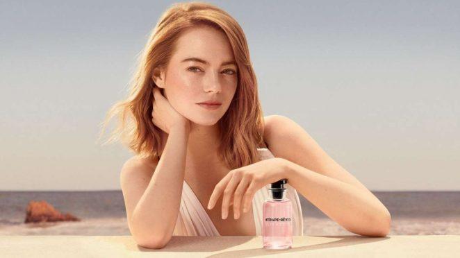 Emma Stone - Louis Vuittons Attrape Reves Fragrance 2018