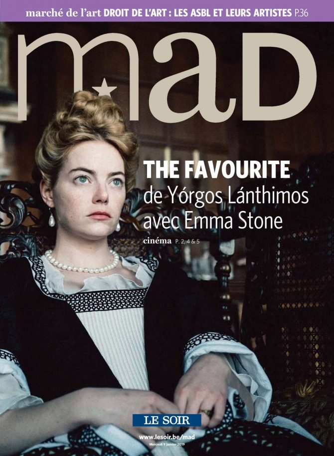 Emma Stone – MAD Magazine (January 2019)