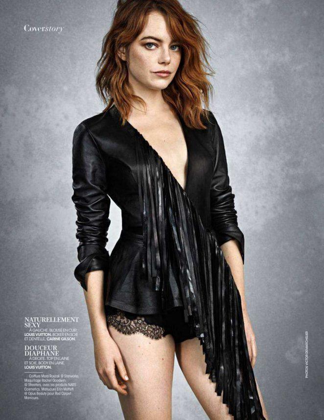 Emma Stone - Madame Figaro magazine - September 2018