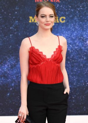 Emma Stone - 'Maniac' Premiere in London