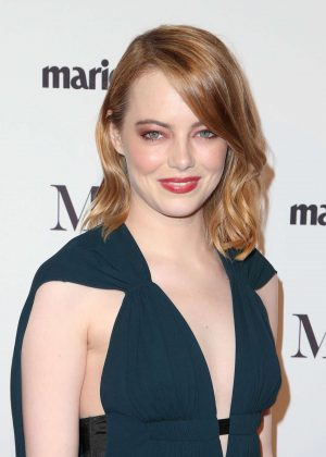 Emma Stone - Marie Claire Image Makers Awards 2018 in Los Angeles