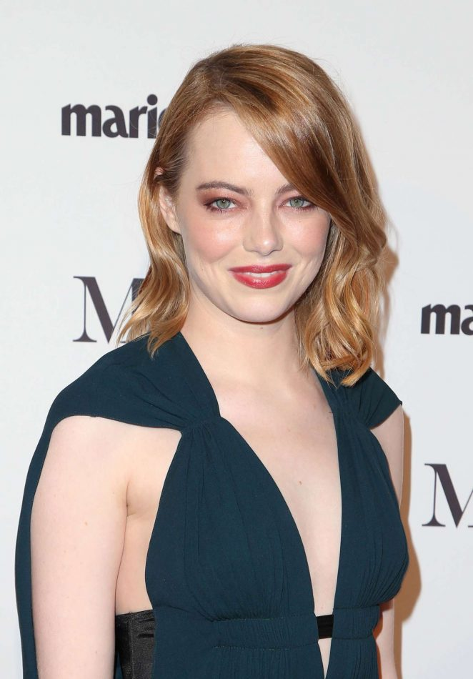 Emma Stone – Marie Claire Image Makers Awards 2018 in Los Angeles