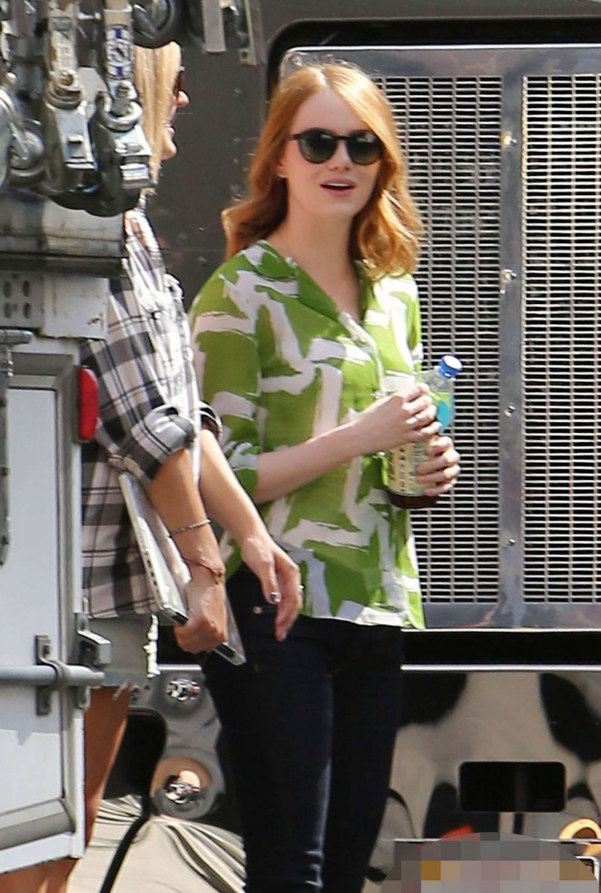 Emma Stone on 'La La Land' in Los Angeles