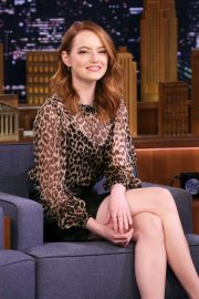 Emma Stone - On 'The Tonight Show Starring Jimmy Fallon' in NYC