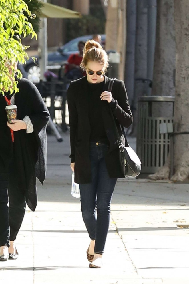 Emma Stone - Out and about in Beverly Hills
