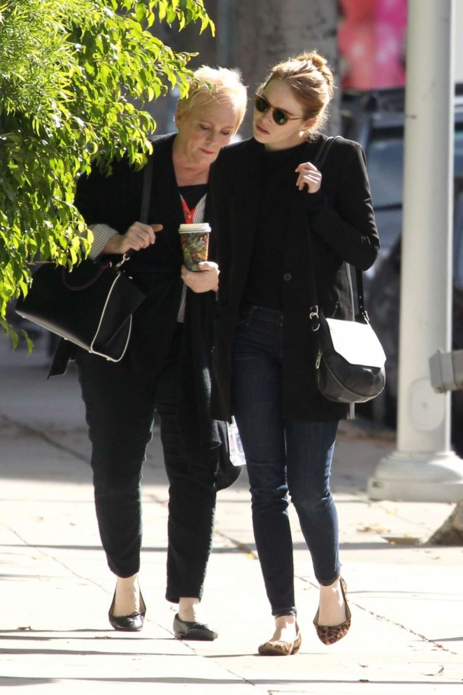 Emma Stone: Out and about in Beverly Hills -04