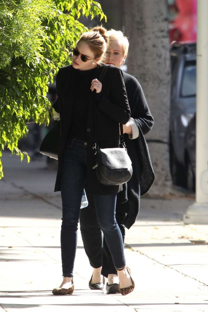 Emma Stone: Out and about in Beverly Hills -05