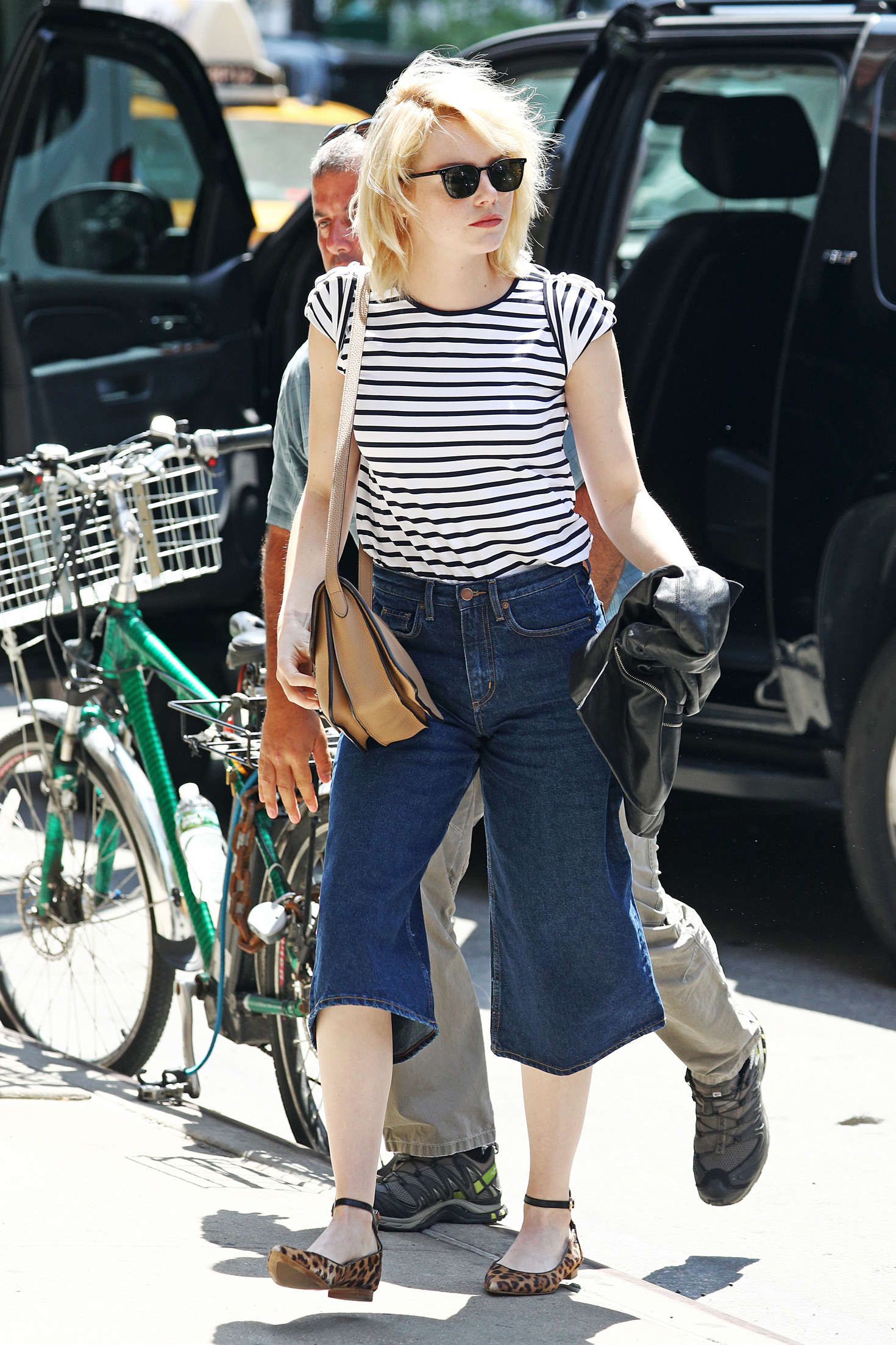 Emma Stone - Out and about in New York City