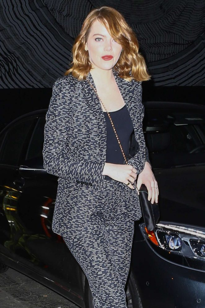 Emma Stone out in Los Angeles