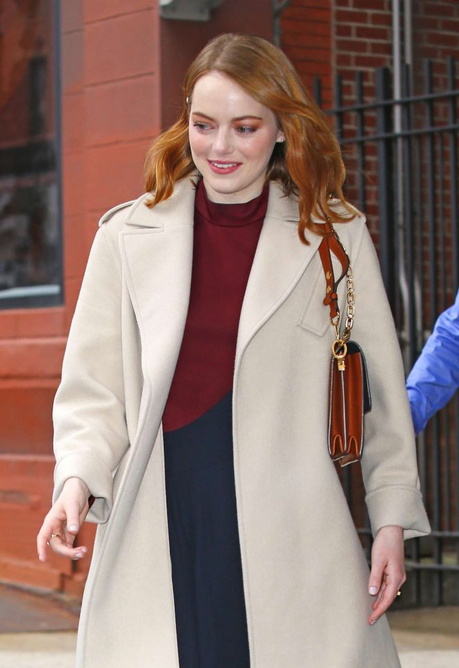 Emma Stone - Out in New York City