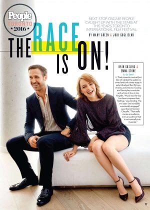 Emma Stone - People Magazine (October 2016)