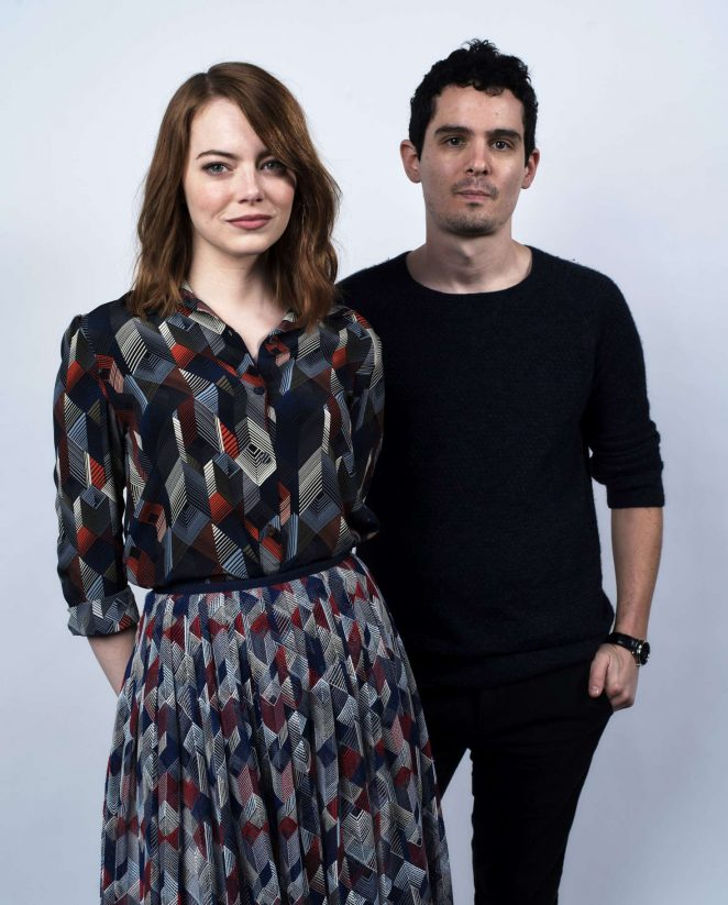 Emma Stone - Portrait Studio at Contenders Presented by Deadline in LA