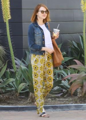 Emma Stone: Shopping at the Malibu Lumber Yard -04