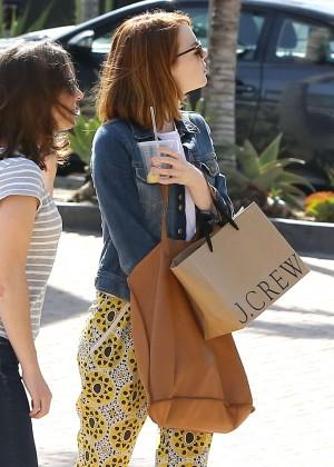 Emma Stone: Shopping at the Malibu Lumber Yard -06