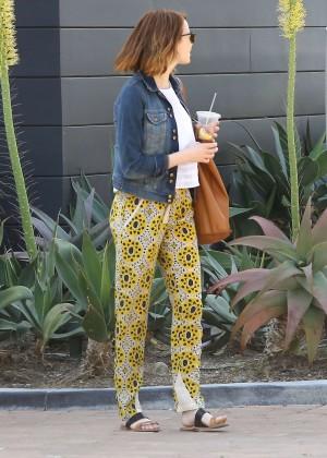 Emma Stone: Shopping at the Malibu Lumber Yard -12