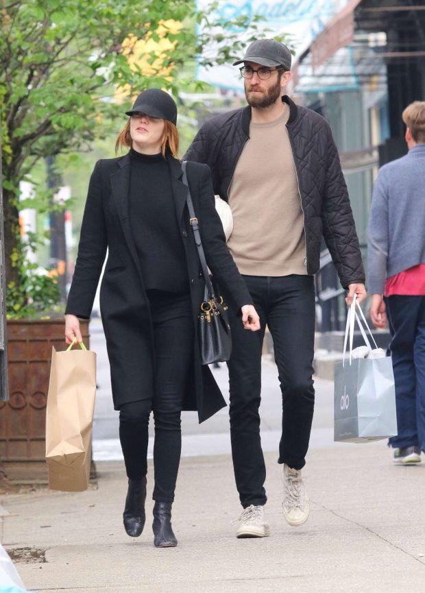 Emma Stone: Shopping in New York -11